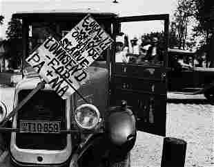 ARTHUR ROTHSTEIN (1915-1985) Rally for the Townsend
