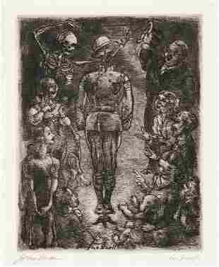 JOHN SLOAN (1871-1951) Shell of Hell.