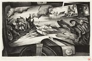 BENTON SPRUANCE (1904-1967) The 30's-Windshield.