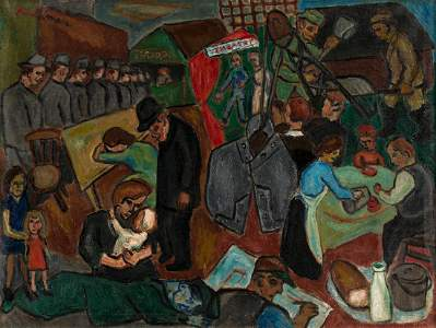 HERBERT KRUCKMAN (1904-1998) The Depression and the New