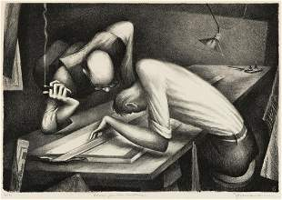 BENTON SPRUANCE (1904-1967) Plans for the Future.