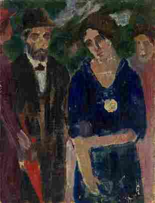 ABRAHAM WALKOWITZ (1878-1965) Untitled.