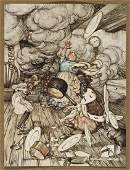 (RACKHAM, ARTHUR.) Carroll, Lewis. Alice's Adventures