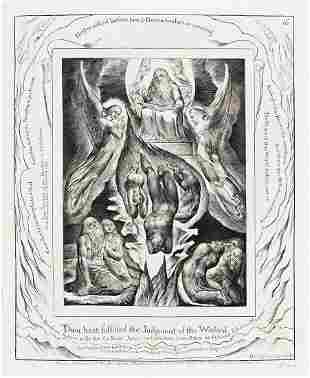 WILLIAM BLAKE Thou Hast Fulfilled the Judgment of the