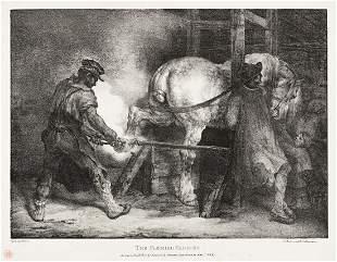 THÉODORE GÉRICAULT The Flemish Farrier.