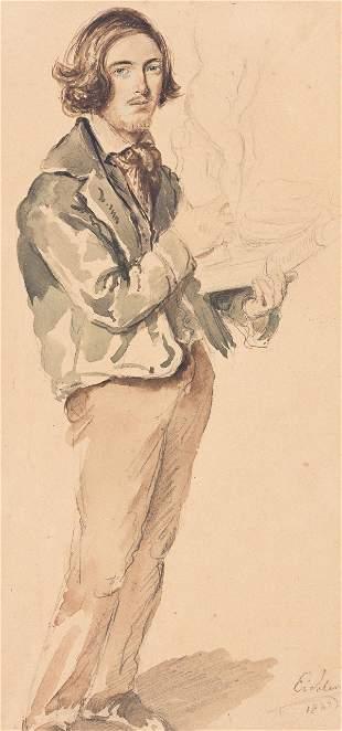 HERMANN EICHLER Full-Length Portrait of an Artist