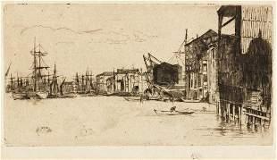 JAMES A. M. WHISTLER Free Trade Wharf.