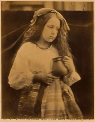 JULIA MARGARET CAMERON (1815-1879) La Contadina, girl