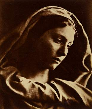 JULIA MARGARET CAMERON (1815-1879) Mary Mother.