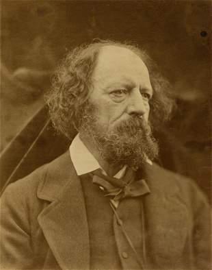 JULIA MARGARET CAMERON (1815-1879) Alfred, Lord