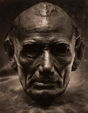 EDWARD STEICHEN (1879-1973) Life Mask of Abraham