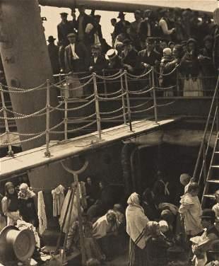 ALFRED STIEGLITZ (1864-1946) The Steerage, from Camera