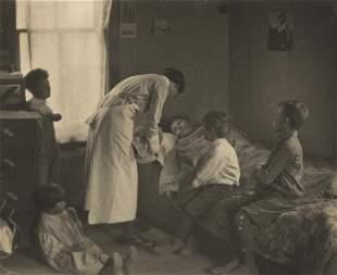 LAURA GILPIN (1891-1979) Visiting nurse.