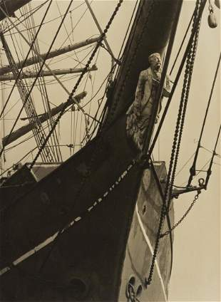 ALMA LAVENSON (1897-1989) Figurehead (sailing vessel).