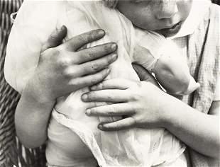 ALMA LAVENSON (1897-1989) Child with doll.