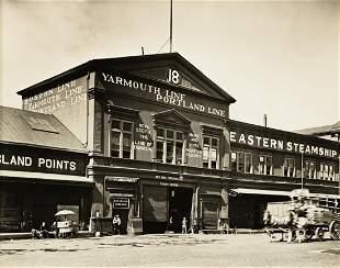 BERENICE ABBOTT (1898-1991) Pier 18, North Pier.