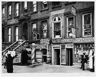 BERENICE ABBOTT (1898-1991) Harlem Street II, 422-424