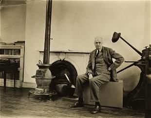 BERENICE ABBOTT (1898-1991) Edward Hopper.