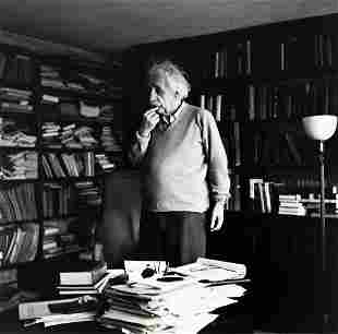 ERNST HAAS (1921-1986) Einstein Thinking.