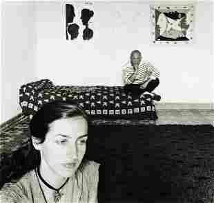 ROBERT DOISNEAU (1912-1994) Picasso et Françoise