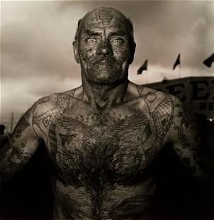 DIANE ARBUS (1923-1971)/NEIL SELKIRK (1947- ) Tattooed