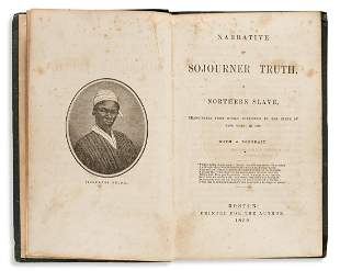 (SLAVERY AND ABOLITION.) Narrative of Sojourner Truth,