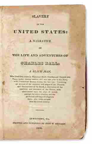 (SLAVERY AND ABOLITION.) Slavery in the United States: