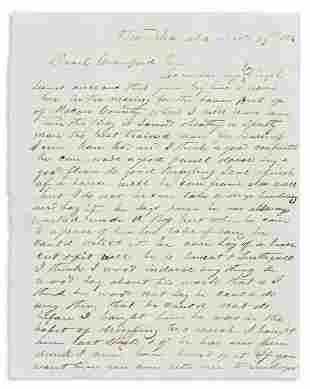 (SLAVERY AND ABOLITION.) James A. Barr. Letter