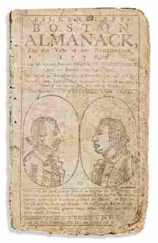 (WASHINGTON.) Benjamin West. Bickerstaff's Boston