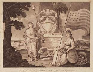 (FOUNDING FATHERS.) John Scoles, engraver. Consecrated