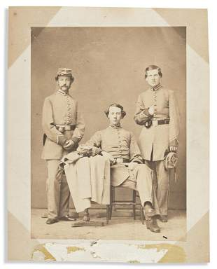 (CIVIL WAR--NEW YORK.) Portrait said to be the Hyde