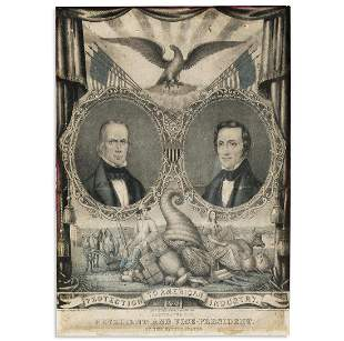 (PRESIDENTS--1844 CAMPAIGN.) Protection to American