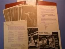 Gordon Cooper's 1959 Mercury Notebook. A compi