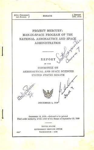 Project Mercury: Man-In-Space Program of the N