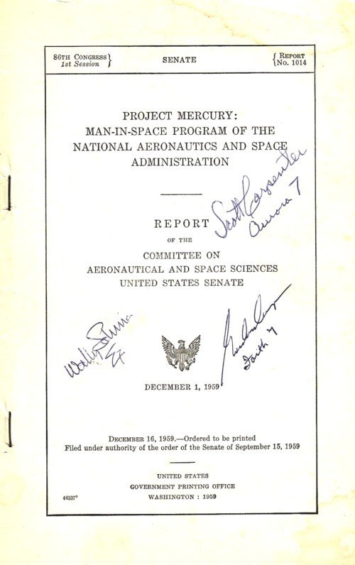 2037017: Project Mercury: Man-In-Space Program of the N