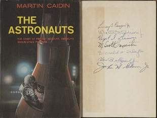 CAIDIN, MARTIN. The Astronauts. Published befo