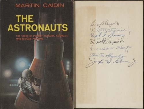 2037020: CAIDIN, MARTIN. The Astronauts. Published befo