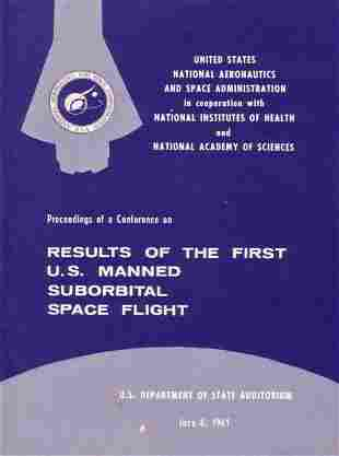 Results of the First U.S. Manned Suborbital Sp