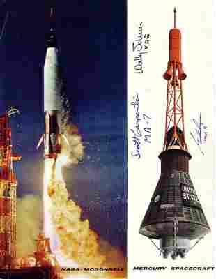 NASA - McDonnell Mercury Spacecraft. A three-p