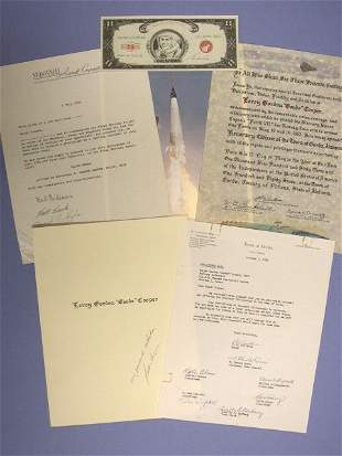 Cooper Letters and Certificates. A 1 July 1963