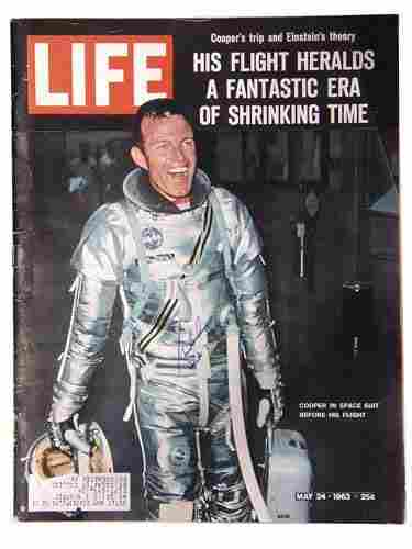 LIFE Magazine Signed by Cooper. The complete 2