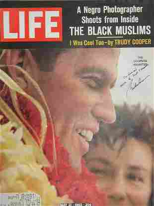 LIFE Magazine Inscribed and Signed by Cooper.