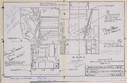 2037105: Gordon Cooper's LM Blueprint. Illustrates the