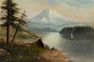GRAFTON TYLER BROWN (1841 - 1918)  Untitled (Sailboat