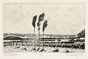 AARON DOUGLAS (1899 - 1979) Oak Bluffs (Vineyard