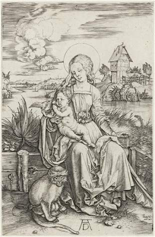 ALBRECHT DÜRER The Virgin and Child with the