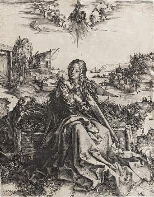 ALBRECHT DÜRER The Holy Family with the Butterfly.