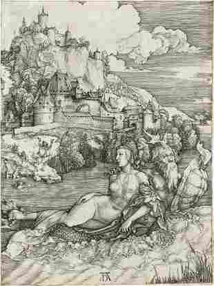 ALBRECHT DÜRER The Sea Monster.