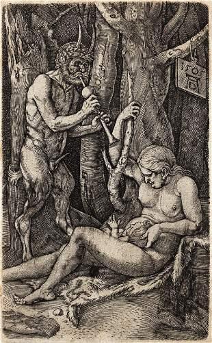 ALBRECHT D�RER The Satyr