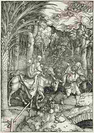 ALBRECHT DÜRER The Flight into Egypt.